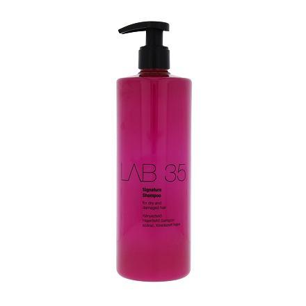 Kallos Cosmetics Lab 35 Signature šampon pro suché a poškozené vlasy 500 ml pro ženy