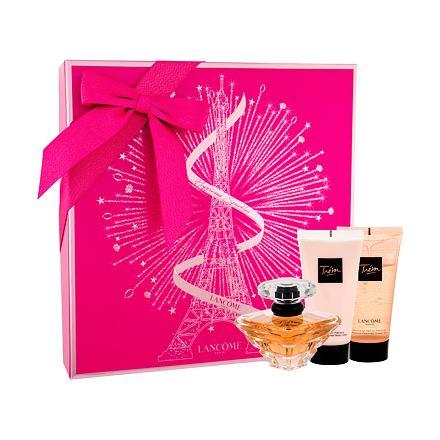 Lancôme Trésor sada parfémovaná voda 50 ml + tělové mléko 50 ml + sprchový gel 50 ml pro ženy