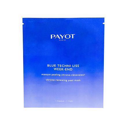 PAYOT Blue Techni Liss Week-End peelingová maska s ochranou proti modrému světlu 1 ks pro ženy