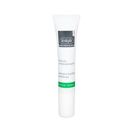 Ziaja Med Antibacterial Treatment Acne Point Reducer antibakteriální gel proti akné 15 ml unisex