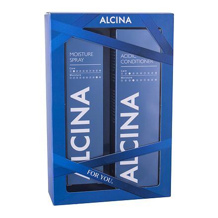 ALCINA Acidic Conditioner 250 ml sada balzám na vlasy 250 ml + hydratační sprej na vlasy 100 ml pro ženy