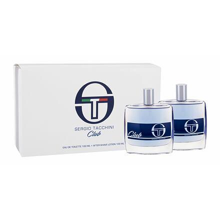 Sergio Tacchini Club sada toaletní voda 100 ml + voda po holení 100 ml pro muže