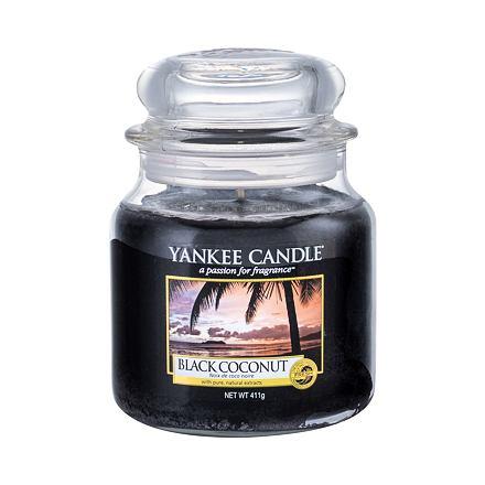 Yankee Candle Black Coconut vonná svíčka 411 g