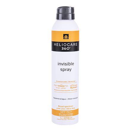 Heliocare 360° Invisible SPF50+ ochranný opalovací sprej na tělo 200 ml