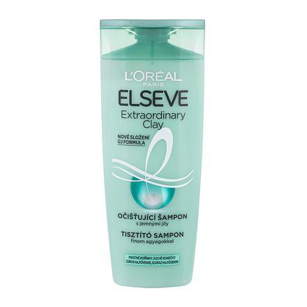 L´Oréal Paris Elseve Extraordinary Clay šampon pro mastné vlasy 250 ml pro ženy