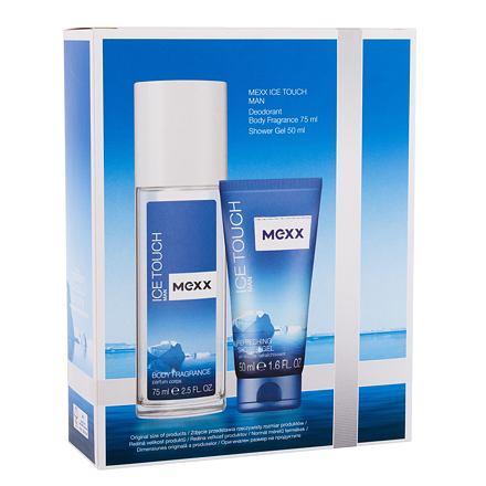 Mexx Ice Touch Man 2014 75 ml sada deodorant 75 ml + sprchový gel 50 ml pro muže