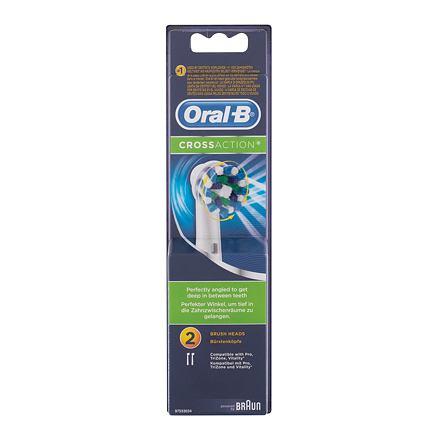 Oral-B CrossAction náhradní hlavice na elektrický kartáček 2 ks