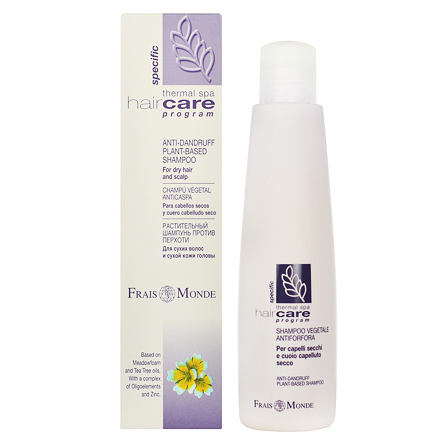 Frais Monde Hair Care Program Specific Anti-Dandruff Plant-Based šampon proti lupům a suchým vlasům