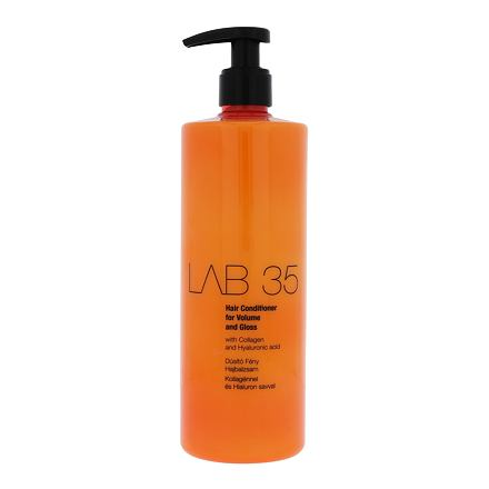 Kallos Cosmetics Lab 35 kondicionér pro suché a poškozené vlasy 500 ml pro ženy