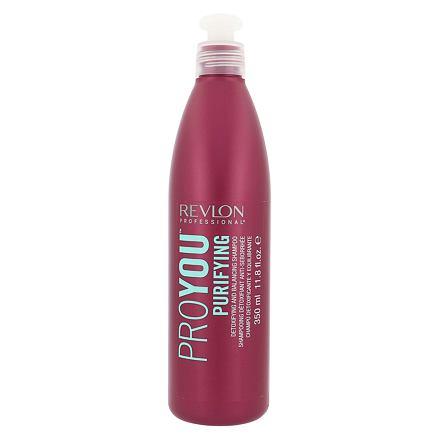 Revlon Professional ProYou Purifying vyrovnávací a detoxikační šampon 350 ml pro ženy