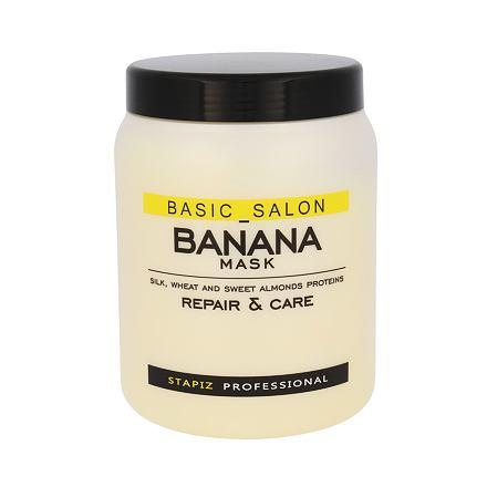 Stapiz Basic Salon Banana Mask maska pro poškozené vlasy 1000 ml pro ženy