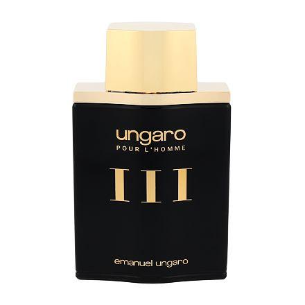 Emanuel Ungaro Ungaro Pour L´Homme III Gold & Bold toaletní voda 100 ml pro muže