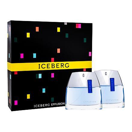 Iceberg Effusion Man 75 ml sada toaletní voda 75 ml + voda po holení 75 ml pro muže