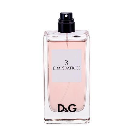 Dolce&Gabbana D&G Anthology L´imperatrice 3 toaletní voda 100 ml Tester pro ženy
