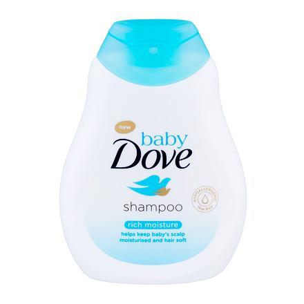 Dove Baby Rich Moisture jemný dětský šampon 200 ml pro děti