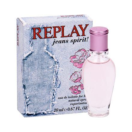 Replay Jeans Spirit! For Her toaletní voda 20 ml pro ženy
