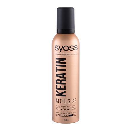 Syoss Professional Performance Keratin Mousse pěnové tužidlo s extra silnou fixací 250 ml pro ženy