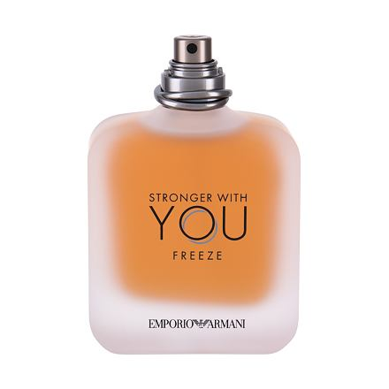 Giorgio Armani Emporio Armani Stronger With You Freeze toaletní voda 100 ml Tester pro muže