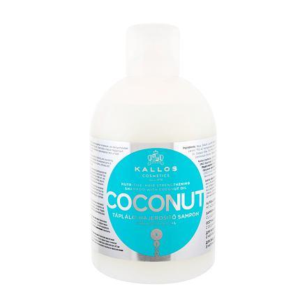 Kallos Cosmetics Coconut vyživující šampon s kokosovým olejem 1000 ml pro ženy