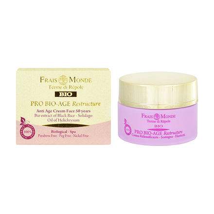 Frais Monde Pro Bio-Age Restructure AntiAge Face Cream 50Years pleťový krém pro zpevnění pleti 50 ml pro ženy