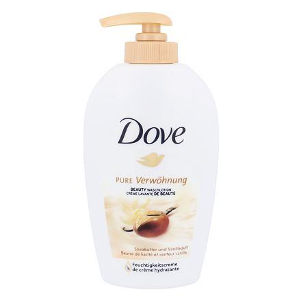 Dove Purely Pampering Shea Butter tekuté mýdlo na ruce s bambuckým máslem 250 ml pro ženy