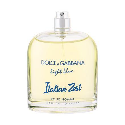 Dolce&Gabbana Light Blue Italian Zest Pour Homme toaletní voda 125 ml Tester pro muže