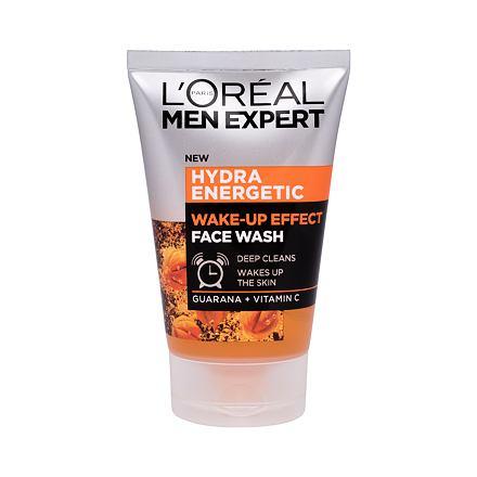 L´Oréal Paris Men Expert Hydra Energetic čisticí gel pro osvěžení a vitalizaci pleti 100 ml pro muže
