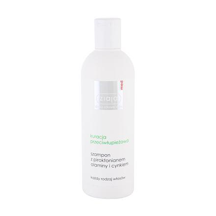 Ziaja Med Hair Treatment Anti Dandruff šampon proti lupům s piroctonem 300 ml pro ženy