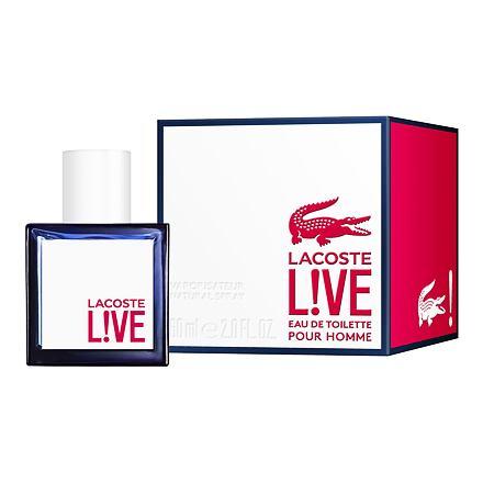 Lacoste Live toaletní voda 60 ml pro muže