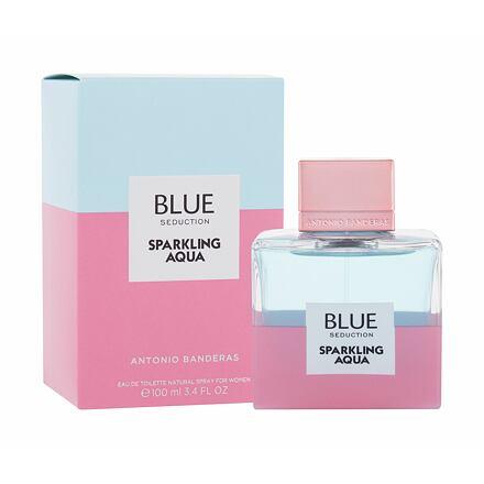 Antonio Banderas Blue Seduction Sparkling Aqua toaletní voda 100 ml pro ženy