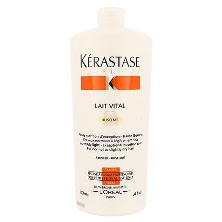 Kérastase Nutritive Lait Vital Irisome vlasová péče pro normální, suché a jemné vlasy 1000 ml pro ženy