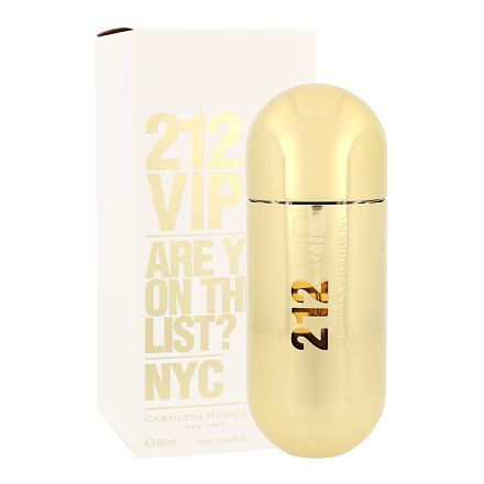 Carolina Herrera 212 VIP parfémovaná voda 80 ml pro ženy
