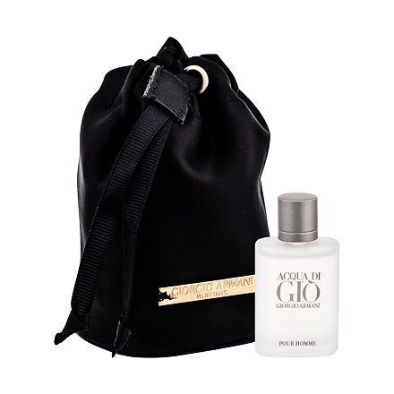 Giorgio Armani Acqua di Gio Pour Homme sada toaletní voda 5 ml + dárkový pytlík pro muže