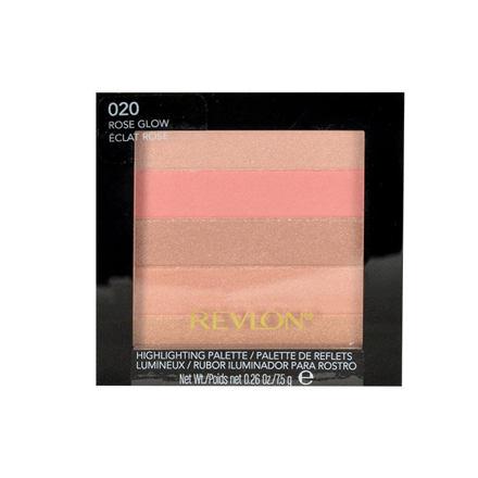 Obrázek Revlon Highlighting Palette rozjasňující paletka 7,5 g odstín 030 Bronze Glow