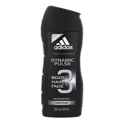 Adidas Dynamic Pulse 3in1 sprchový gel 250 ml pro muže