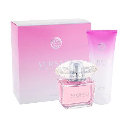 Versace Bright Crystal 90 ml sada toaletní voda 90 ml + tělové mléko 100 ml pro ženy