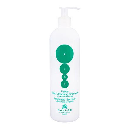 Kallos Cosmetics KJMN Deep Cleansing šampon pro mastné vlasy a pokožku hlavy 500 ml pro ženy