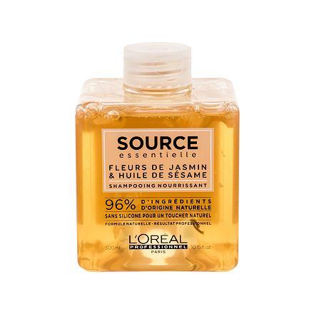 L´Oréal Professionnel Source Essentielle Nourishing vyživující šampon pro suché a nepoddajné vlasy 300 ml pro ženy