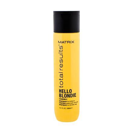 Matrix Total Results Hello Blondie Chamomile šampon pro blond vlasy 300 ml pro ženy