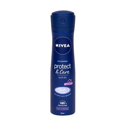 Nivea Protect & Care 48h antiperspirant ve spreji 150 ml pro ženy