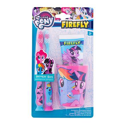 My Little Pony Toothpaste 75 ml sada zubní pasta My Little Pony 75 ml + zubní kartáček My Little Pon