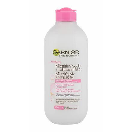 Garnier SkinActive Micellar Water + Moisturizing Milk čisticí a hydratační micelární voda 400 ml pro