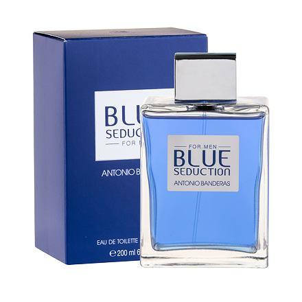 Antonio Banderas Blue Seduction For Men toaletní voda 200 ml pro muže