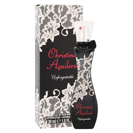 Christina Aguilera Unforgettable parfémovaná voda 30 ml pro ženy