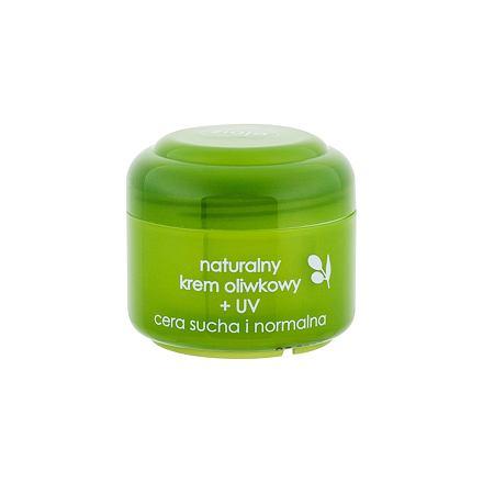 Ziaja Natural Olive krém pro normální a suchou pleť s ochranným faktorem 50 ml pro ženy