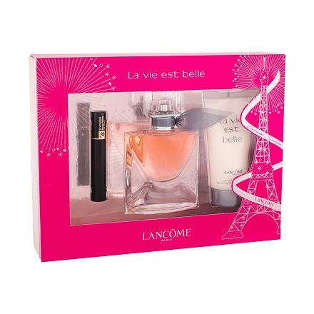 Lancôme La Vie Est Belle sada parfémovaná voda 30 ml + tělové mléko 50 ml + řasenka Hypnose N