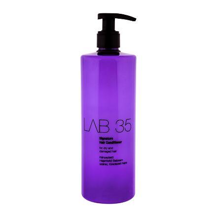 Kallos Cosmetics Lab 35 Signature kondicioner pro suché a poškozené vlasy 500 ml pro ženy