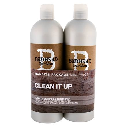 Tigi Bed Head Men Clean Up 750 ml sada šampon 750 ml + kondicionér 750 ml pro muže