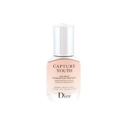 Christian Dior Capture Youth Age-Delay Advanced Eye Treatment revitalizační oční péče proti vráskám 15 ml pro ženy
