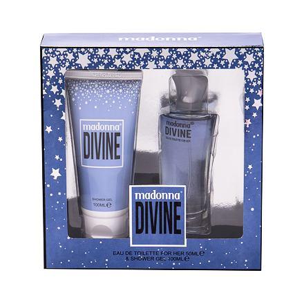 Madonna Nudes 1979 Divine 50 ml sada toaletní voda 50 ml + sprchový gel 100 ml pro ženy
